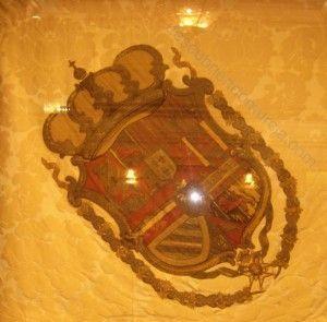 Pendon real 300x295 Murcia contra Napoleón