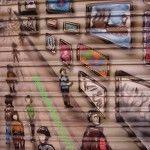 Grafiteros + Comerciantes = Arte en la calle