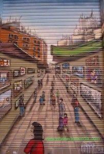 murcia11 203x300 Grafiteros + Comerciantes = Arte en la calle