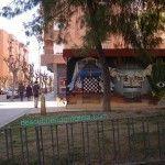 calle Pintor Pedro Flores en el Barrio del Carmen