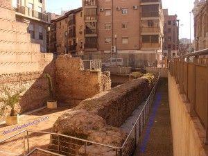 La muralla isl mica de ver nicas en murcia for Sala x murcia