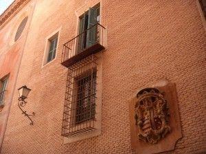 Isabel II Palacio Episcopal Murcia2 300x225 El balcón de la Reina Isabel en Murcia