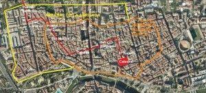 Muralla Islamica Murcia2 300x136 Los Reyes Católicos de visita por Murcia