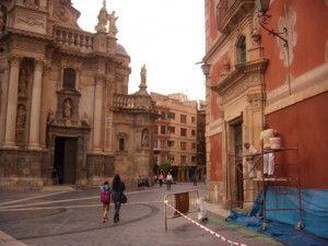 restauracion Palacio Episcopal Murcia 300x225 Rehabilitando la fachada del Palacio Episcopal