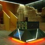 La puerta monumental de Santa Eulalia en Murcia