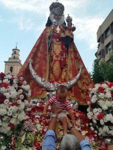 Virgen de la Fuensanta Murcia 225x300 La Virgen de la Fuensanta y la Feria de Septiembre en Murcia