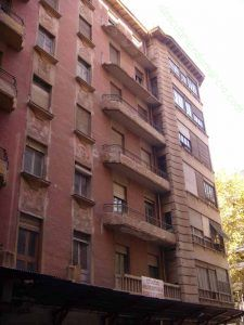 Calle Lepanto Murcia1 225x300 El curioso edificio de la calle Lepanto en Murcia
