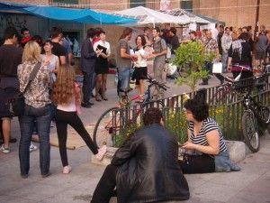 Movimiento 15 M Glorieta Murcia 300x225 El Movimiento 15 M no encuentra su sitio...