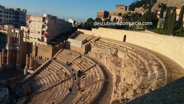 Cartagena Teatro Romano Galba aclamado Emperador de Roma en Carthago Nova