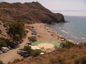 Puntas de Calnegre cala 300x225 Puntas de Calnegre, el desierto junto al mar