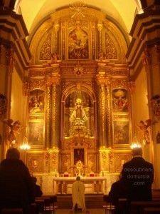 retablo Iglesia del Carmen Murcia1 225x300 Nuevo retablo para la Iglesia del Carmen