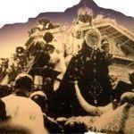 Virgen Fuensanta Murcia coronacion Puente de los Peligros 1927