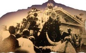 Virgen Fuensanta Murcia coronacion Puente de los Peligros 1927 300x185 Coronación de la Virgen de la Fuensanta