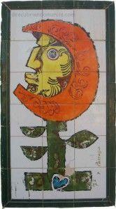 mosaico Parraga El Palmar Murcia 166x300 Obras de Párraga por la Calle Mayor del El Palmar