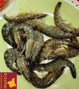 langostinos mar menor 264x300 A la pesca del langostino del Mar Menor