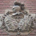 Escudos barrocos en los edificios de Murcia