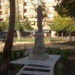 Escultura de José Planes en el Barrio del Carmen
