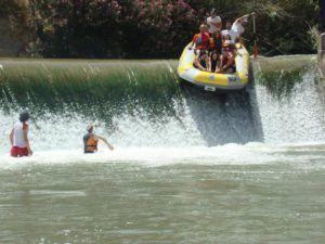 Rio Segura descenso 300x225 Descenso del Cañón de Almadenes