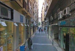 calle Capuchinas Murcia 300x203 Jorge Guillén y su Palacio de Ordoño