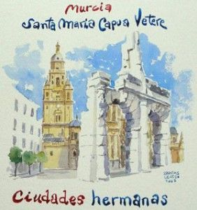 Santa Maria Capua Vetere y Murcia 282x300 Santa María Capua Vétere y Murcia ya son hermanas gracias a los Salzillo