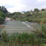 Contraparada del río Segura en Murcia