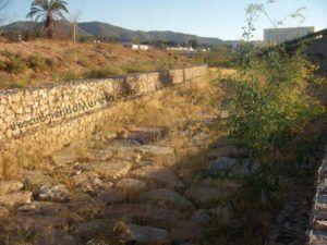 rambla Puerto de la Cadena El Palmar 300x225 La rambla del Puerto de la Cadena en El Palmar