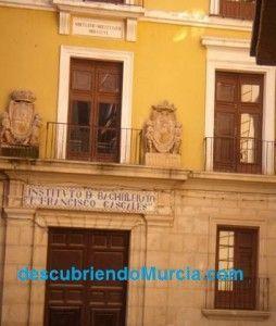 Instituto Francisco Cascales Murcia1 254x300 El Instituto Alfonso X de Murcia cumple 175 años