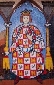 Alfonso X el Sabio grafo en Murcia 191x300 Alfonso X el Sabio y el Panocho