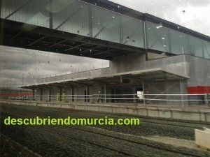 Estacion Provisional de tren Beniel 300x225 Una nueva estación de tren en Murcia, para que llegue el AVE