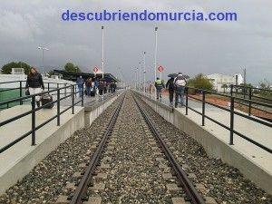 Estacion tren provisional Orihuela 300x225 Una nueva estación de tren en Murcia, para que llegue el AVE
