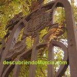 Jardin Floridablanca Murcia detalle verja 150x150 La Fundición Peña, la primera fábrica de camas en Murcia