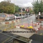 Torre de Romo Murcia paso a nivel