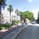 La calle Cartagena, el Camino de los Soldados