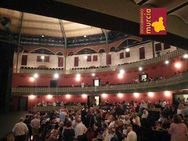 Teatro Circo Murcia Eclecticismo y Modernismo en Región de Murcia