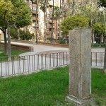 busto El Patinero Parque Viudes Murcia