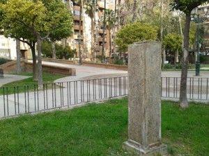 busto El Patinero Parque Viudes Murcia 300x225 Roban el busto de El Patiñero del Jardín Viudes