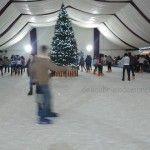 Una pista para patinar sobre hielo en Murcia