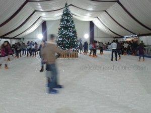 pista patinar hielo Cuartel Artilleria Murcia 300x225 Una pista para patinar sobre hielo en Murcia