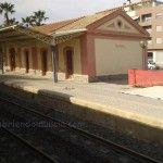 Ha sido derribada la Estación de Trenes de Beniel
