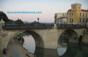 Puente Viejo o de Piedra Murcia 300x194 El Puente Viejo de Murcia y el pequeño tesoro que esconde