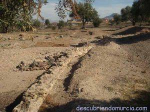 basilica paleocristiana algezares murcia 300x225 La Cora de Tudmir en Orihuela y la fundación de la ciudad de Murcia