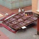 fuertes vientos en Murcia