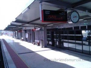 nueva Estacion de Tren Beniel 300x225 Ha sido derribada la Estación de Trenes de Beniel