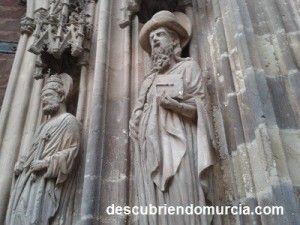 Apostol Santiago Catedral de Murcia 300x225 El Apóstol Santiago y su llegada a Cartagena