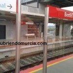 La Estación de Beniel se queda sin AVE