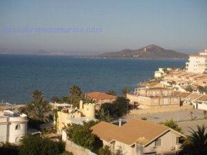 Isla del Baron Mar Menor 300x225 La isla volcánica del Barón y sus muflones