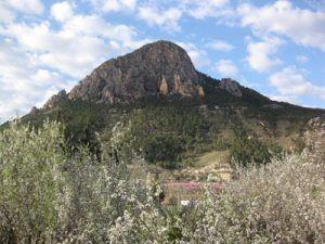 Monte de la Atalaya Cieza 300x225 Las minas de oro en las sierras de Abarán, Cieza y Ricote