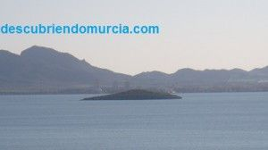 isla redonda Mar Menor 300x168 Las islas del Ciervo, el Sujeto y la Redonda en el Mar Menor
