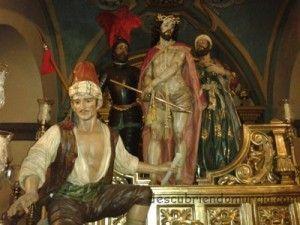 Berrugo Pretorio los coloraos Murcia 300x225 La leyenda de el Berrugo en la procesión de los Coloraos