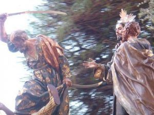El Prendimiento Salzillo Murcia 300x225 La Santa Cena y El Prendimiento de Salzillo